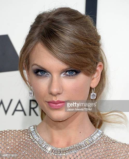 Singer Taylor Swift attends the 56th GRAMMY Awards at Staples Center on January 26 2014 in Los Angeles California