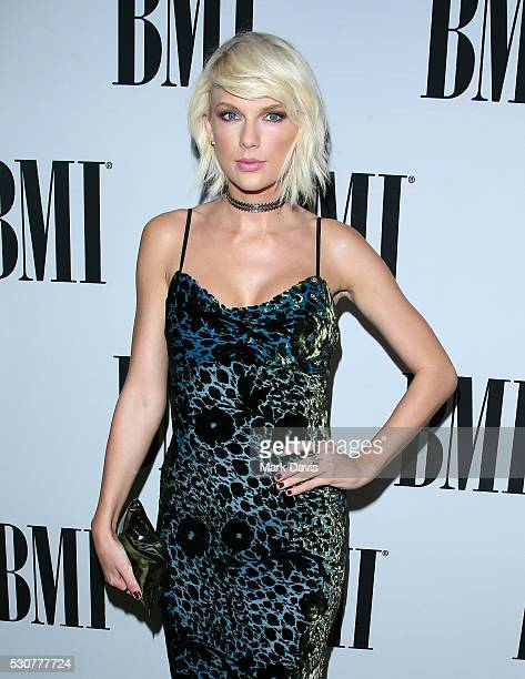 Singer Taylor Swift attends the 64th Annual BMI Pop Awards held at the Beverly Wilshire Four Seasons Hotel on May 10 2016 in Beverly Hills California