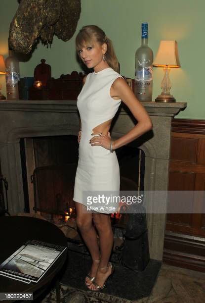 Singer Taylor Swift attends the 'AUGUST OSAGE COUNTY' TIFF Party hosted by The Weinstein Company and Entertainment One presented by Bombardier at...