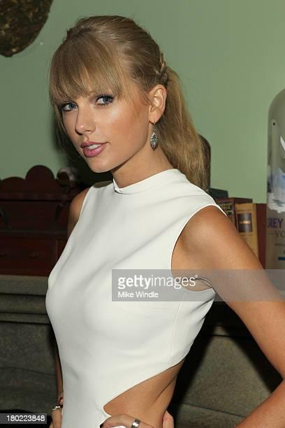 Singer Taylor Swift attends the AUGUST OSAGE COUNTY TIFF Party hosted by The Weinstein Company and Entertainment One presented by Bombardier at Soho...