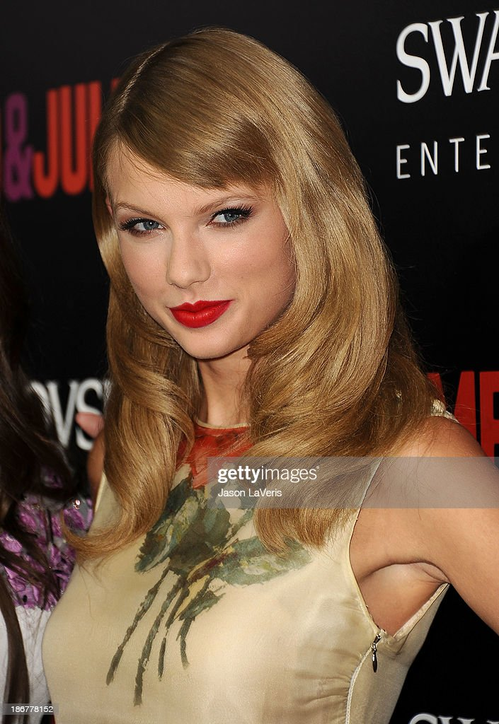 Singer Taylor Swift attends the premiere of 'Romeo And Juliet' at ArcLight Hollywood on September 24, 2013 in Hollywood, California.