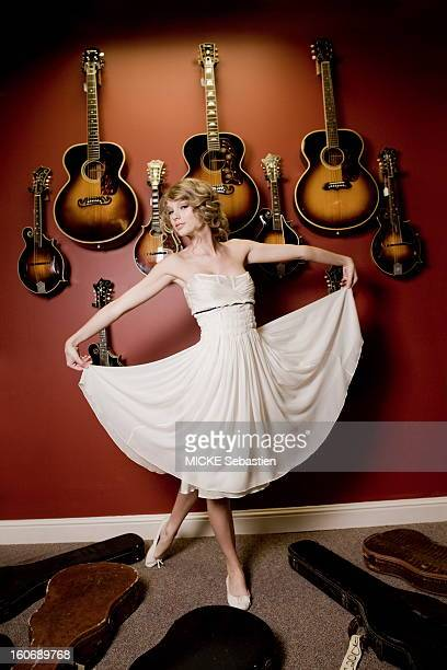 Singer Taylor Swift is photographed for Paris Match in Nashville Tennessee on August 17 2010