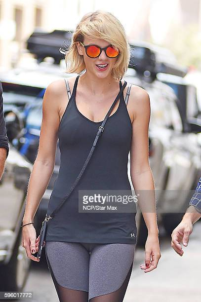 Singer Taylor Swift is seen on August 26 2016 in New York City