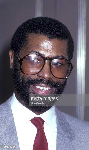 Singer Teddy Pendergrass attends the taping of 'Live at 5' on November 18 1980 at NBC TV Studios in Burbank California