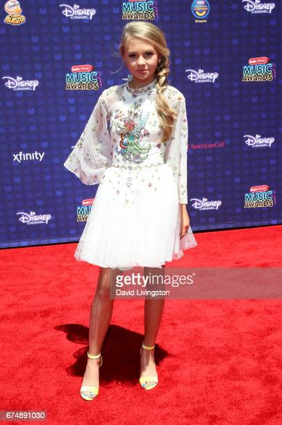 Singer Tegan Marie attends the 2017 Radio Disney Music Awards at Microsoft Theater on April 29 2017 in Los Angeles California