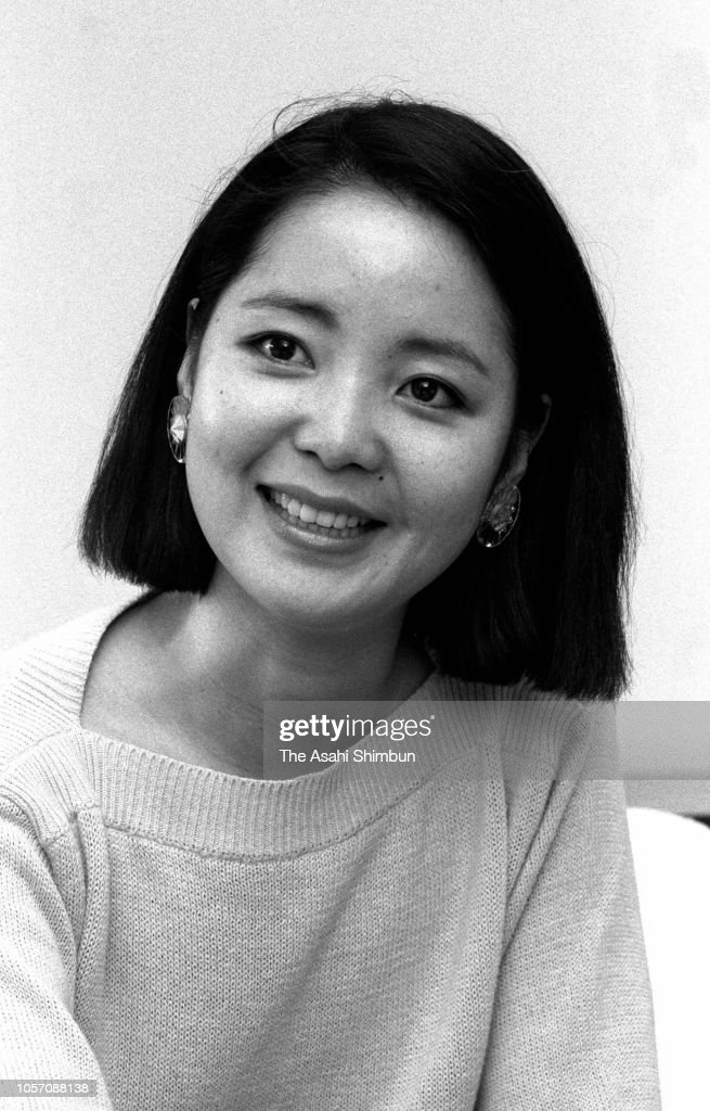 Singer Teresa Teng Interview : News Photo