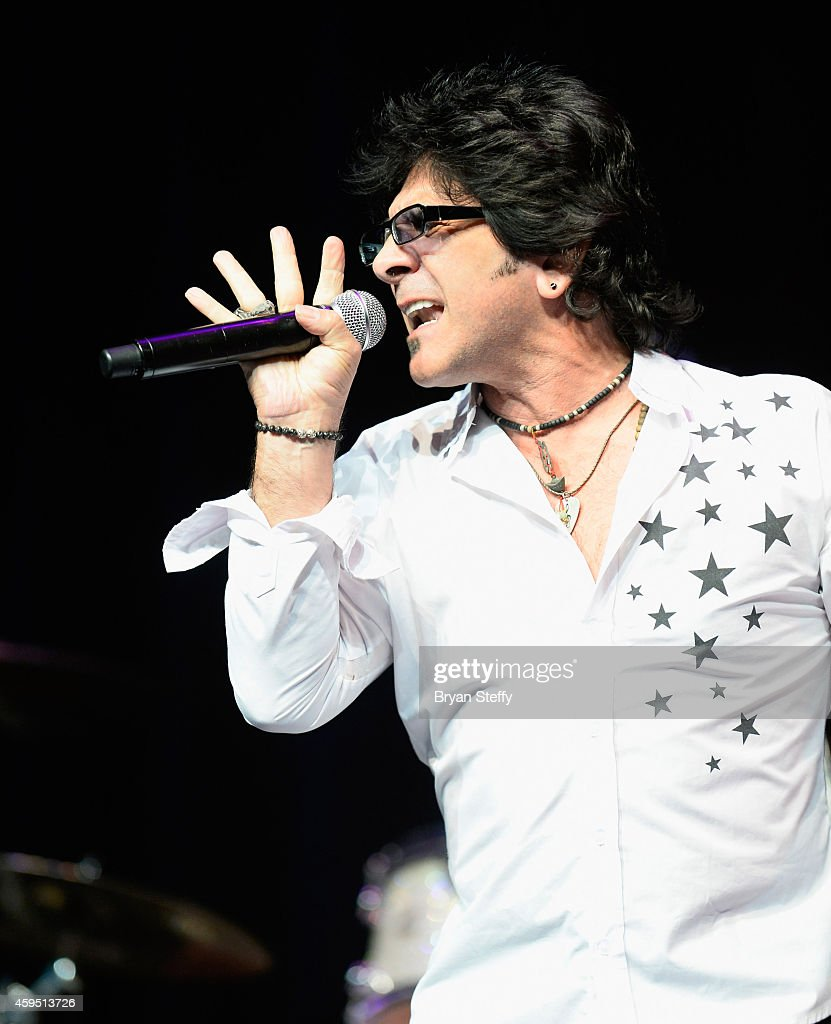Singer Terry Ilous of Great White performs during The 5th annual Vegas Rocks! Magazine Music Awards at The Pearl Concert Theater at the Palms Casino Resort on November 23, 2014 in Las Vegas, Nevada.