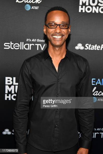 Singer Tevin Campbell attends 2019 Black Music Honors at Cobb Energy Performing Arts Centre on September 05, 2019 in Atlanta, Georgia.