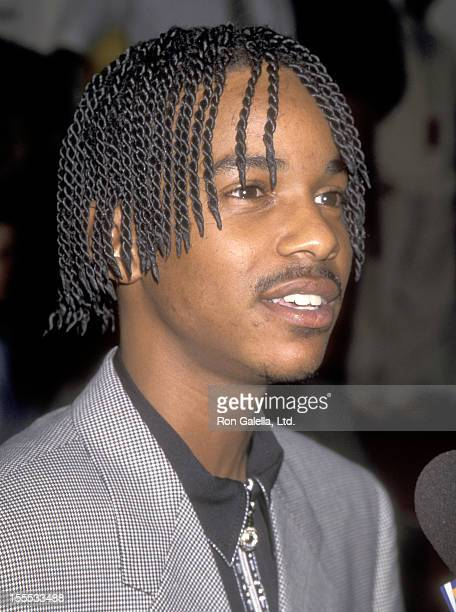 Singer Tevin Campbell attends the 10th Annual Soul Train Music Awards on March 29 1996 at Shrine Auditorium in Los Angeles California