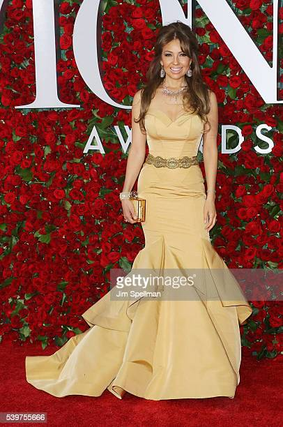 Singer Thalia attends the 70th Annual Tony Awards at Beacon Theatre on June 12 2016 in New York City