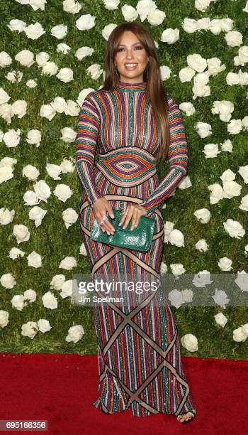 Singer Thalia attends the 71st Annual Tony Awards at Radio City Music Hall on June 11 2017 in New York City