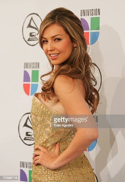 Singer Thalia attends the 7th Annual Latin Grammy Awards at Madison Square Garden November 2 2006 in New York City