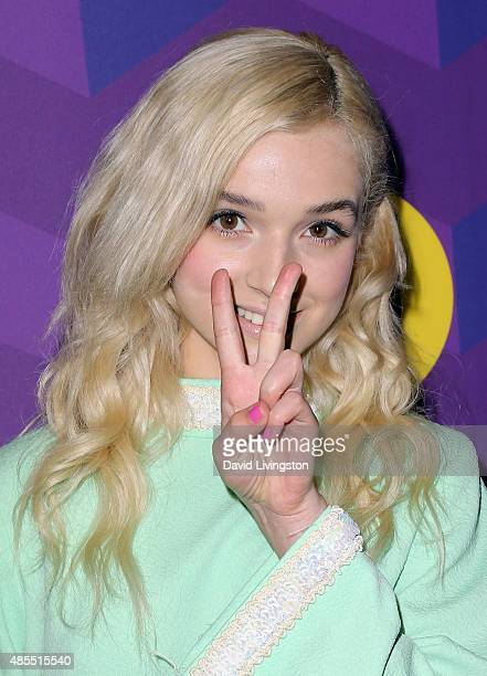 Singer That Poppy attends Just Jared's Way to Wonderland presented by Ever After High at Greystone Manor Supperclub on August 27 2015 in West...