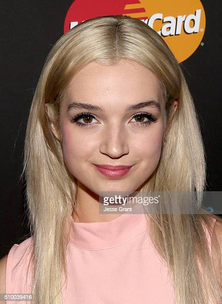 Singer That Poppy attends the Westwood One Radio Remotes during The 58th GRAMMY Awards at Staples Center on February 13 2016 in Los Angeles California