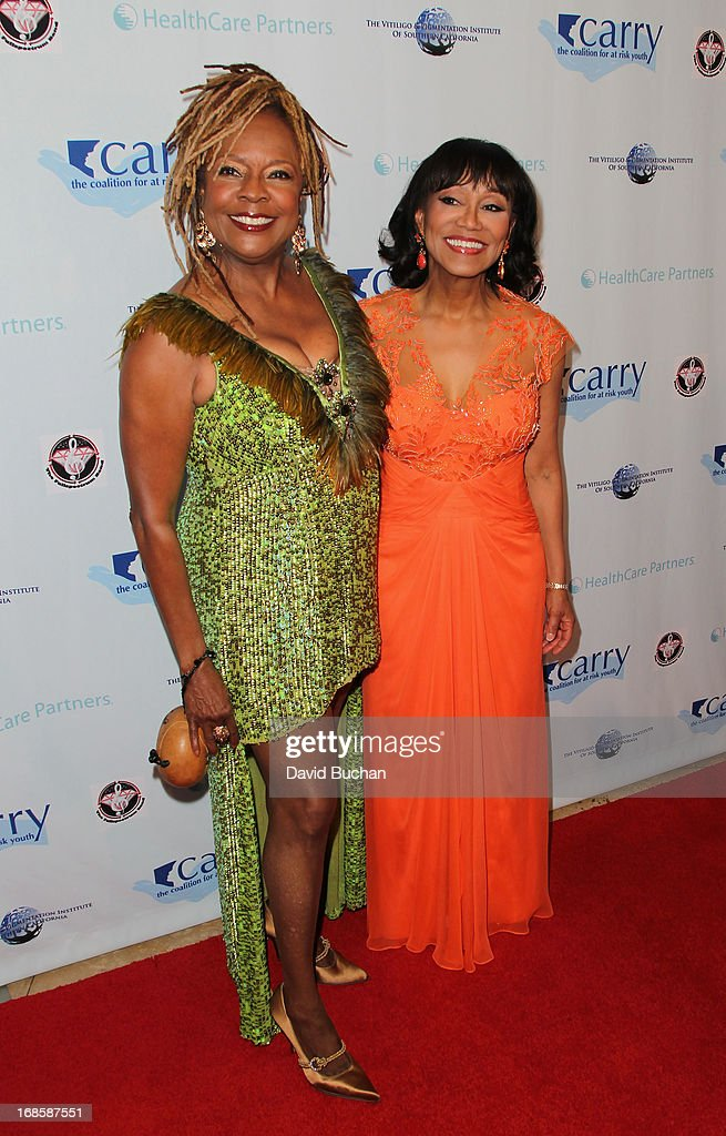 Singer Thelma Houston and Dr Pearl E. Grimes attend The Coalition For At-Risk Youth (CARRY) 'Shall We Dance' Gala at The Beverly Hilton Hotel on May 11, 2013 in Beverly Hills, California.