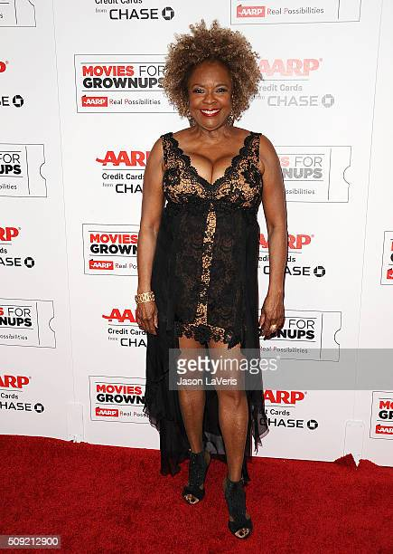 Singer Thelma Houston attends the 15th annual Movies For Grownups Awards at the Beverly Wilshire Four Seasons Hotel on February 8 2016 in Beverly...