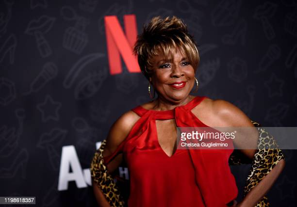 Singer Thelma Houston attends the premiere of Netflix's AJ and the Queen Season 1 at the Egyptian Theatre on January 09 2020 in Hollywood California