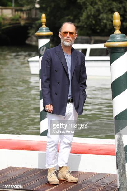 Singer Thom Yorke is seen during the 75th Venice Film Festival on September 1 2018 in Venice Italy