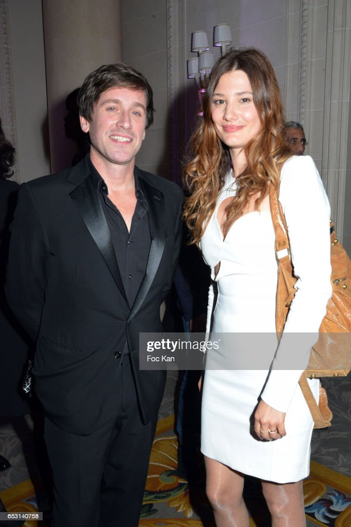 Singer Thomas Dutronc and actress Alice Pol attend 'La Recherche en Physiologie' Charity Gala (Les Stethos D'Or La Soiree Des Stars) at Four Seasons Hotel George V on March 13, 2017 in Paris, France.