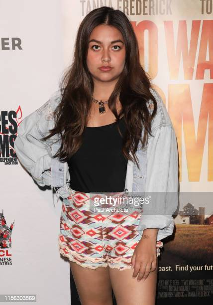 Singer Tiana Kocher attends the premiere of the Two Ways Home at the 2019 Dances With Films Festival at TCL Chinese Theatre IMAX on June 15 2019 in...