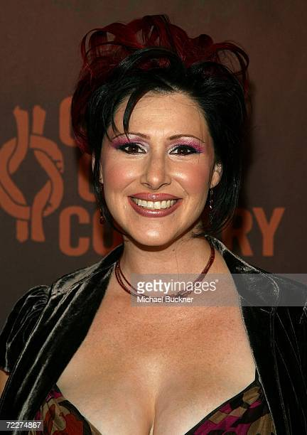 Singer Tiffany arrives at the Country Music Television's CMT Giants honoring Reba McEntire at the Kodak Theatre on October 26, 2006 in Hollywood,...
