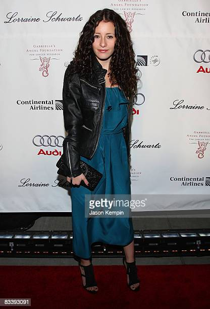 Singer Tiffany Giardina attends Gabrielle's Gala benefitting Gabrielle's Angel Foundation for Cancer Research hosted by Denise Rich at Cipriani Wall...