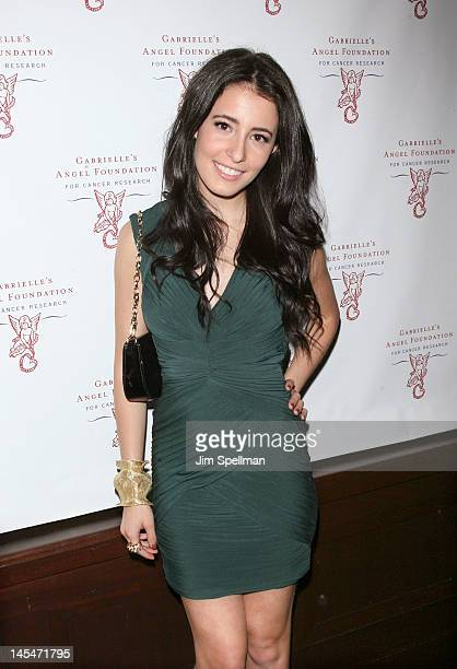 Singer Tiffany Giardina attends the 2012 Millennial Ball To Benefit Gabrielle's Angel Foundation For Cancer Research at Lavo on May 30 2012 in New...