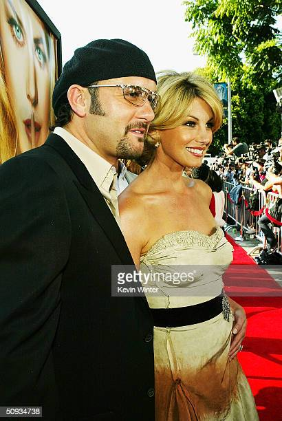 """Singer Tim McGraw and wife, singer/actress Faith Hill arrive at the world premiere of Paramount's """"The Stepford Wives"""" at the Bruin Theatre on June..."""