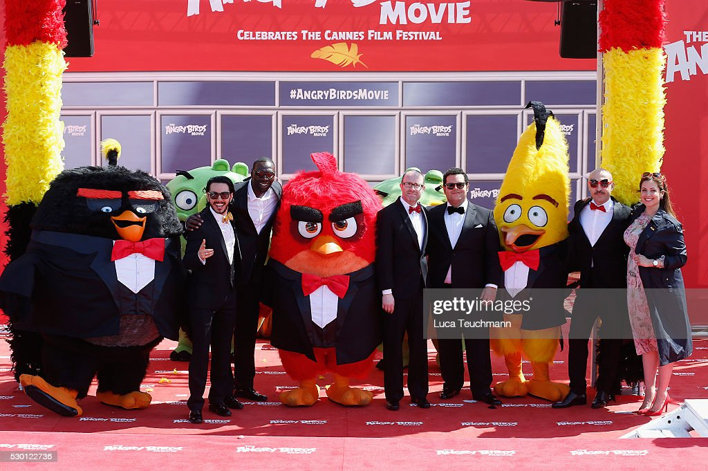 """""""The Angry Birds Movie"""" Photocall - The 69th Annual Cannes Film Festival"""