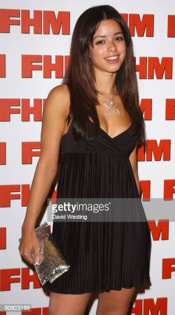 Singer Tina Barrett attends FHM 100 Sexiest Women party celebrating the annual poll of 100 sexiest women as voted by readers of the men's magazine on...