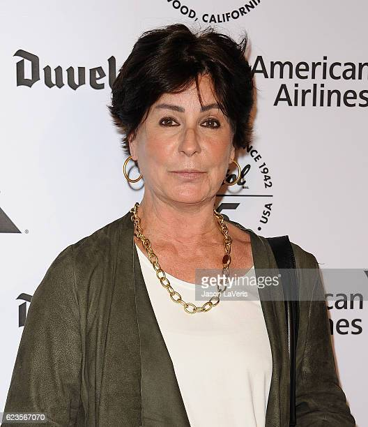 Singer Tina Sinatra attends the Capitol Records 75th anniversary gala at Capitol Records Tower on November 15 2016 in Los Angeles California