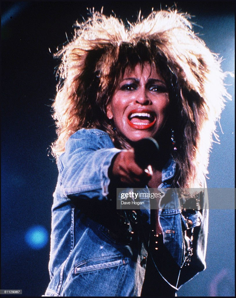 Tina Turner Performs Live : News Photo