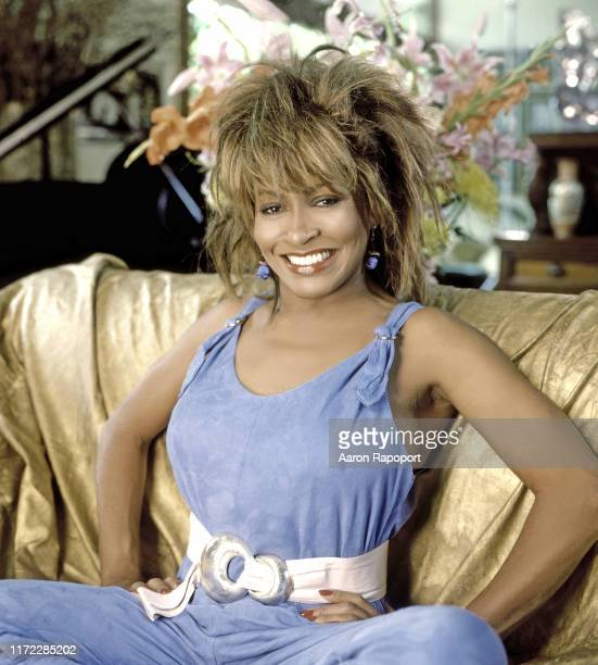 Singer Tina Turner poses for a portrait circa 1985 in Los Angeles California