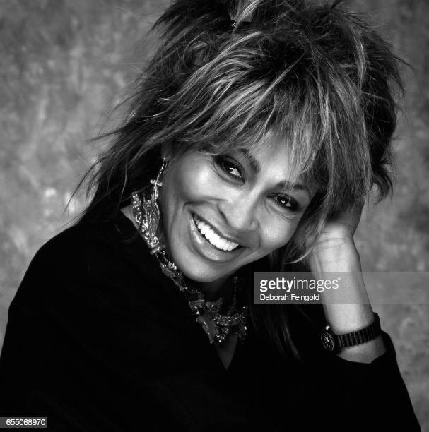 Singer Tina Turner poses in June 1984 in New York City New York