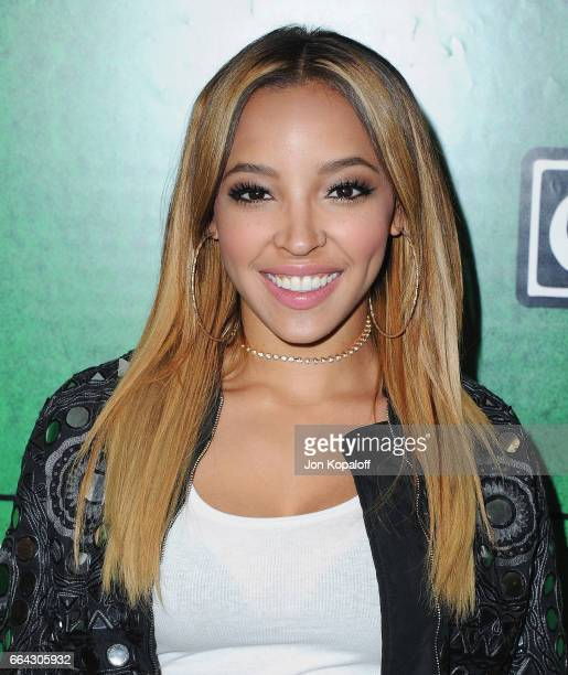 Singer Tinashe arrives at Zedd Presents WELCOME Fundraising Concert Benefiting The ACLU at Staples Center on April 3 2017 in Los Angeles California