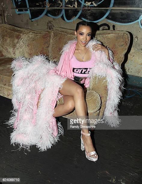 Singer Tinashe attends MTV's 'Wonderland' LIVE Show on November 17 2016 in Los Angeles California