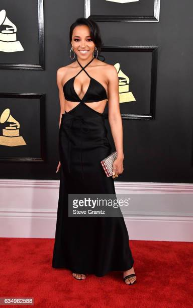 Singer Tinashe attends The 59th GRAMMY Awards at STAPLES Center on February 12 2017 in Los Angeles California