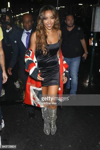 Singer Tinashe is seen on September 6 2017 in New York City