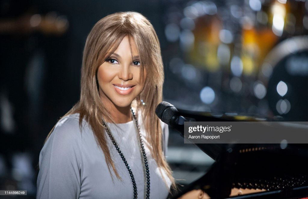 Toni Braxton Live Portrait Session and performance 2009 : News Photo