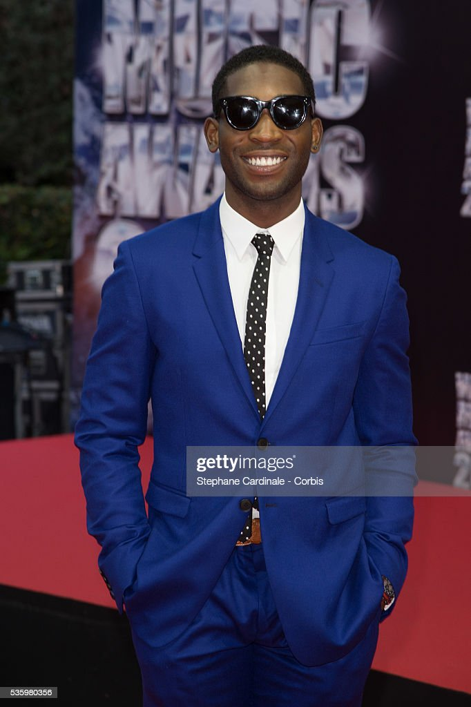 Singer Tinie Tempah arrives at the World Music Awards at Sporting Monte-Carlo on May 27, 2014 in Monte-Carlo, Monaco.
