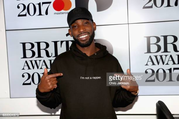 Singer Tinie Tempah visits Kiss Radio on February 1 2017 in London England