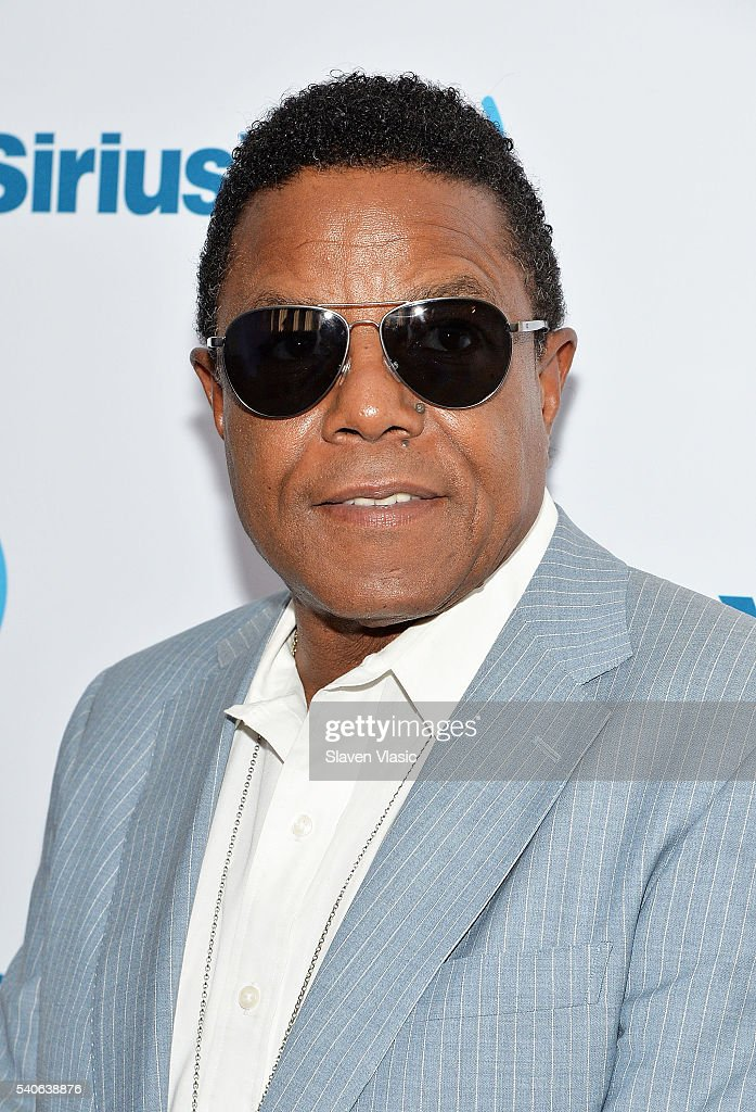 Singer Tito Jackson visits SiriusXM Studios on June 15, 2016 in New York City.