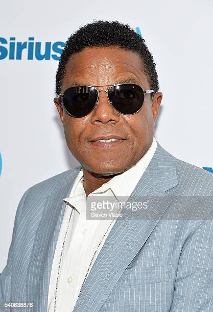 Singer Tito Jackson visits SiriusXM Studios on June 15 2016 in New York City