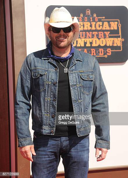 Singer Toby Keith arrives at the 2016 American Country Countdown Awards at The Forum on May 1 2016 in Inglewood California