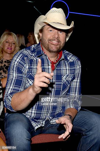 Singer Toby Keith attends the 2016 American Country Countdown Awards at The Forum on May 1 2016 in Inglewood California