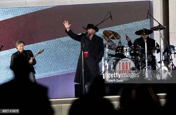 Singer Toby Keith performs during the Inaugural 2017 Make America Great Again Welcome Celebration on January 19 2017 in Washington DC