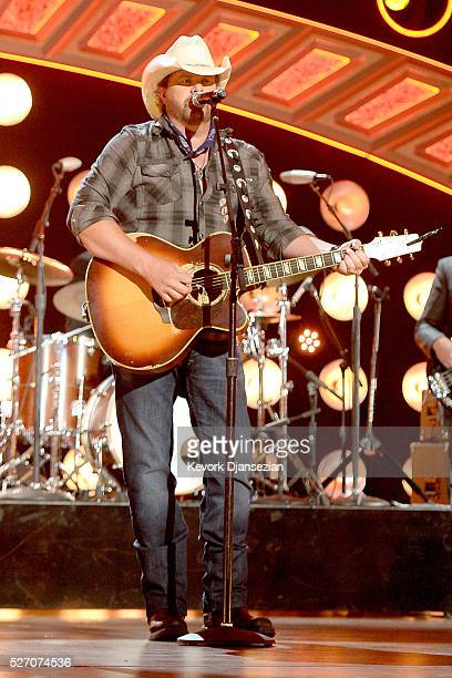 Singer Toby Keith performs onstage during the 2016 American Country Countdown Awards at The Forum on May 1 2016 in Inglewood California