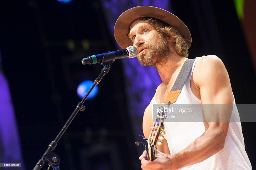 Singer Todd Snider performs at Farm Aid 2014, Raleigh, North Carolina, September 13, 2014.
