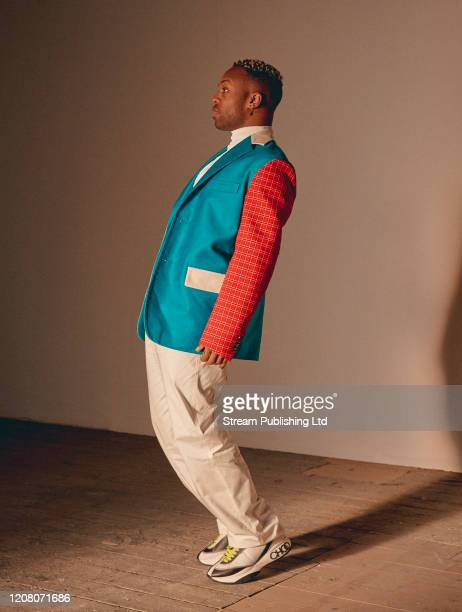 Singer Todrick Hall is photographed for Attitude magazine on November 28 2019 in London England