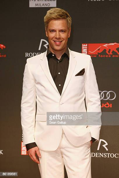 Singer Tom Gaebel attends the 2009 ''New Faces'' awards at the BCC on April 23 2009 in Berlin Germany